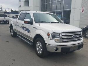 2014 Ford F-150 4X4-SUPERCREW LARIAT-157 WB