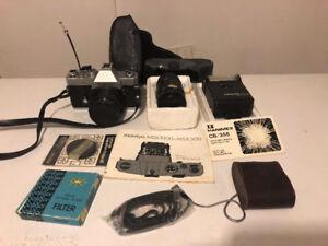 Mamiya MSX1000 film camera and associated equipment
