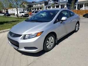 2012 Honda Civic Coupe LX Eco Low Kms