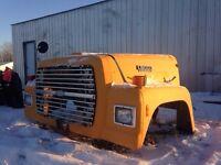 Ford L8000 hood