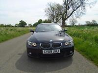 2009/09 BMW 3 SERIES 3.0 330D M SPORT HIGHLINE 2DR BLACK + HUGE SPEC + MUST SEE