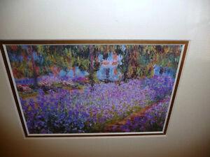 """Art Print Claude Monet """"The Artist's Garden"""" 1900 Stratford Kitchener Area image 4"""