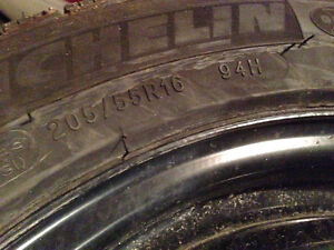205/55R16 Michelin X-ice X13 94H Snow tires