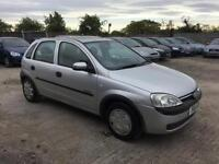 VAUXHALL CORSA 2002 1.4 MY COMFORT PETROL - AUTOMATIC - LOW MILEAGE