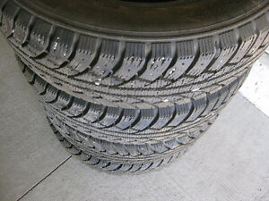 4, Winter Tires,195 65 15,For Driving On Snow and Icy Roads.