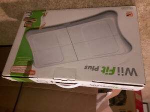 Wii fit plus board and game