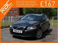 2010 Volvo V50 1.6 D Turbo Diesel DRIVe SE LUX 5 Speed Estate Bluetooth Full Lea
