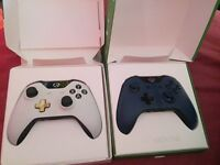 Xbox one limited edition controllers