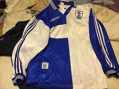 Grasshopper Zurich 97 (switzerland) Football Shirt Home Long Sleeve Large