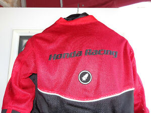 Women's Med. Honda Racing jacket    recycledgear.ca