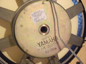 Caisse de son avec haut-parleur Yamaha 15 pouces