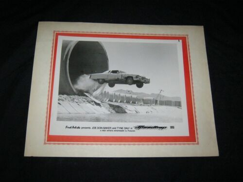 Original Grindhouse Theatre Manager Made Lobby Display Photo SPEEDTRAP 71 CADDY