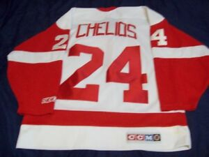 Detroit Red Wings Chris Chelios Jersey.