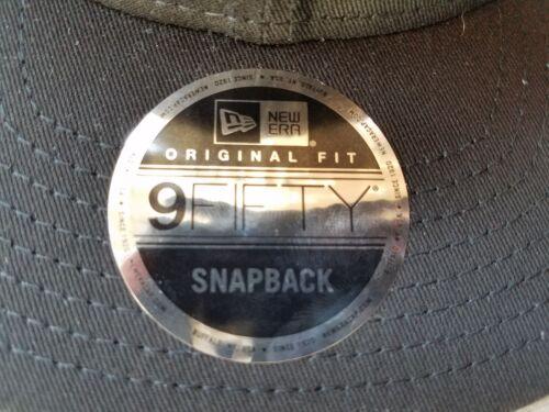 New Era 9Fifty Flat Snapback Trucker Hat Cap Blank { BLACK//BLACK } NE403-Trucker