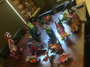 Large Collection of Dinosaurs - mostly Imaginext