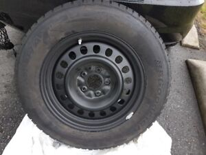 Brand new winter tires w/brand new metal rims