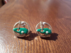 Golf Earrings