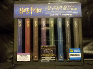 Harry Potter Limited Edition Steelbook Collectors Box Set