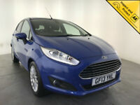 2013 FORD FIESTA TITANIUM 5 DOOR HATCHBACK FREE ROAD TAX SERVICE HISTORY