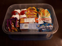 Selected Snack Boxes