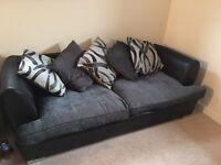 Sofa and rotating armchair