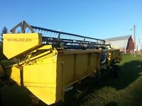25ft.New Holland 971 straight cut header,25ft.NH 973 for parts