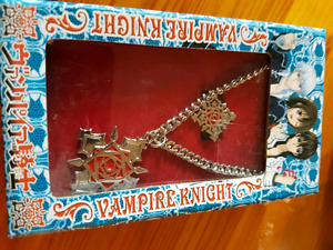 Vampire Knight ring and necklace set
