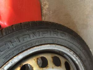 4 Champiro Winter Tires & Rims