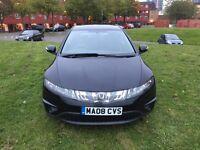 3 month warranty Honda Civic 1.8 petrol reg 2008 mailge 65,000