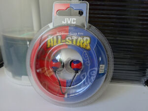 Earphones, DVD-R, CD Recordable, empty cases... Cornwall Ontario image 4