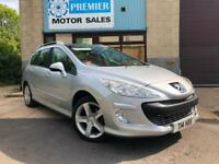 2009 (59) PEUGEOT 308 SW ESTATE 1.6 HDi 110 SPORT, PANORAMIC ROOF +