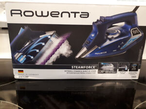 New Rowenta Professional Iron