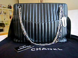 Chanel Black Lambskin Large Mademoiselle Tote Bag North Shore Greater Vancouver Area image 1