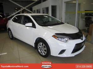 Toyota Corolla LE CVT Aut/Ac/Vitres,Portes,Miroirs Electriques