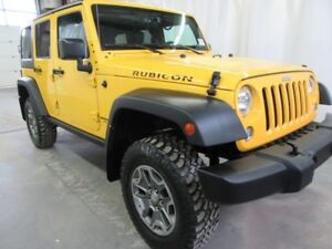 2015 Jeep Wrangler Unlimited Rubicon  W\Leather,Nav
