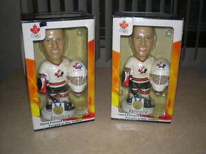 1/2 OFF ~ MARTIN BRODEUR BOBBLE HEAD TEAM CANADA GOLD MEDAL ~