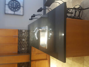 Beautiful Galaxy Black Granite Counters