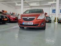 2013 Vauxhall Meriva 1.4 i 16v SE 5dr (a/c) MPV Petrol Manual