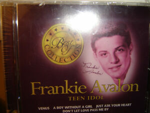 """FRANKIE AVALON """"TEEN IDOL BEST OF"""" BRAND NEW FACTORY WRAPPED CD"""
