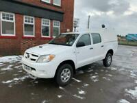2008 Toyota Hilux HL2 D/Cab Pick Up 2.5 D-4D 4WD 120 PICK UP DIESEL Manual