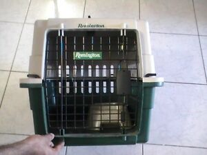 1 TIME USED HEAVY DUTY PET CARRIER FOR SALE -- $50