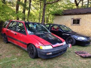 Part out 91 Honda Civic wagon