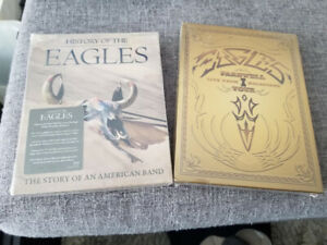 History of the Eagles + Eagles Farewell Tour - New/Sealed DVDs
