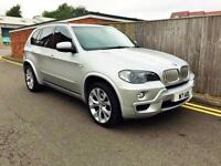 2008 BMW X5 4.8 48i M Sport 5dr Silver Fully Loaded
