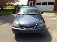 2002 Kia Spectra GSX Low KM's As Is