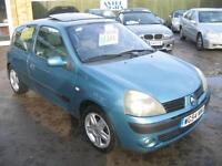 54 REG RENAULT CLIO 1.2 16v DYNAMIQUE, REDUCED BY £200 NOW £1195