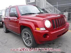 2008 JEEP PATRIOT NORTH EDITION 4D UTILITY 4WD NORTH EDITION