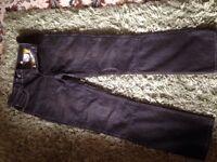 Hornee Kevlar motorbike jeans size 12