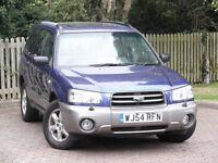 Subaru Forester 2.0 Allweather 4x4**1 Owner**Full Subaru/History**Cambelt Done**