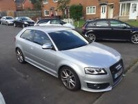 Audi s3 2.0 TFSI QUATTRO 3dr silver Remapped
